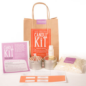 'Mimosa And Mandarin' Candle Making Kit - what's new