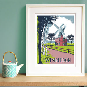 Wimbledon Screen Print - what's new