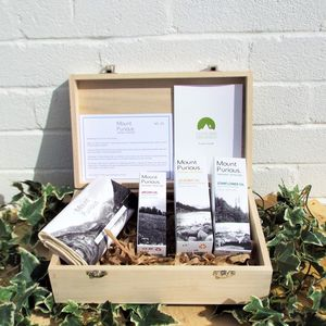 No. Two 100% Organic Ladies Skincare Timber Gift Box