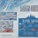 Scratch Off Alpine Skiing Print