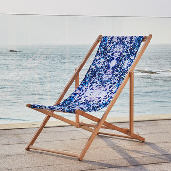 Mesmerise Watercolour Deckchair