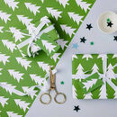 Christmas Tree Wrapping Paper Set