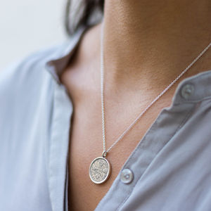 Lucky Sixpence Necklace In Sterling Silver - necklaces & pendants