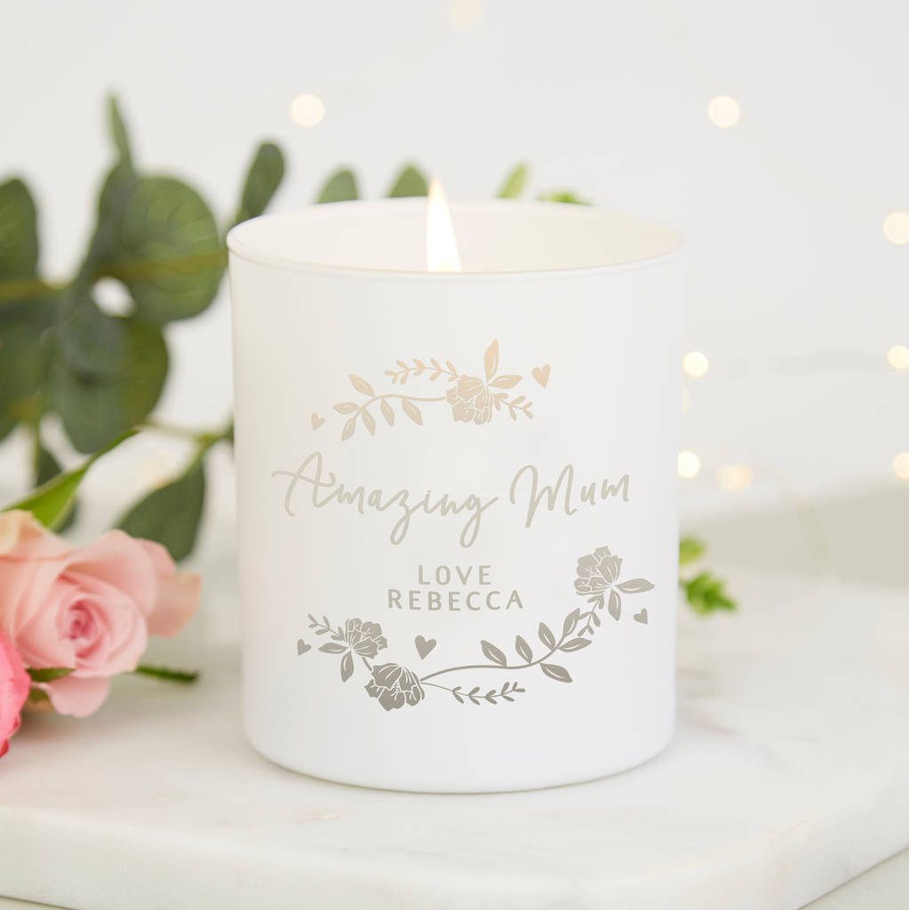 mum christmas gift amazing mum candle by norma&dorothy ...