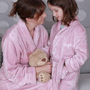 Personalised Supersoft Childrens Dressing Gown