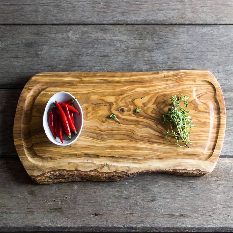Natural Olive Wood Carving Board