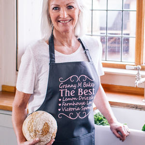 Personalised You're The Best Apron - gifts for her