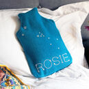 Star Sign Personalised Hot Water Bottle Cover