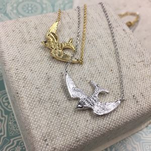 Soar Bird Necklace - necklaces & pendants