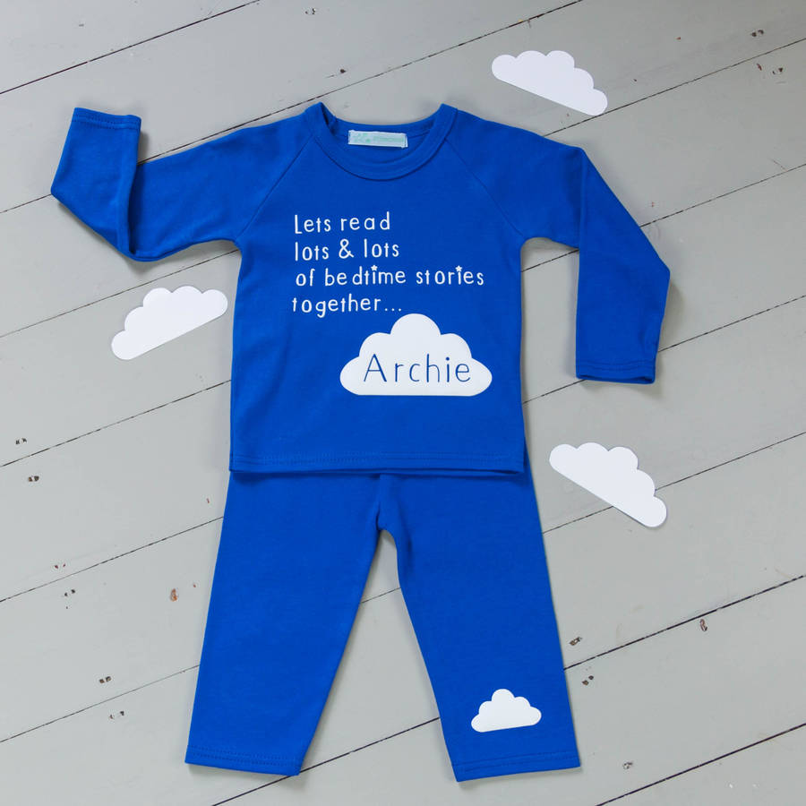 Personalised Kids Pyjamas Bedtime Stories