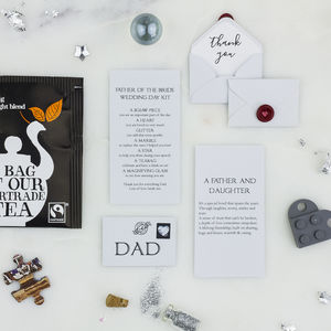 Personalised Father Of The Bride Wedding Day Gift - wedding thank you gifts