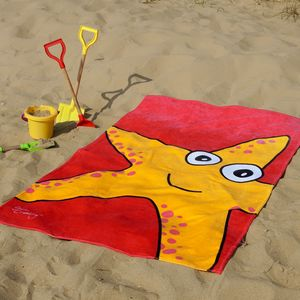 Sally The Starfish Beach Towel - beach towels