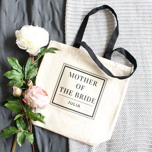 'Mother Of The Bride' Wedding Tote Bag - wedding gifts for mothers