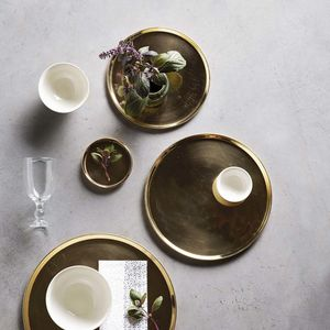 Brass Tray - new in home