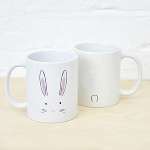 Bunny Rabbit Mug - mugs
