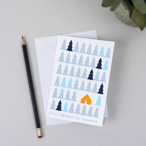 Camping Greeting Card