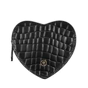 Crocodile Leather Handbag Tidy 'Mirabella L Croco ' - clutch bags