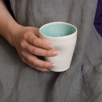 Handmade Dimpled Cup