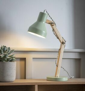 Folgate Desk Lamp In Sage