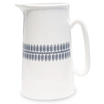 Lawn Illustrated Jug