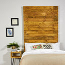 Anderson Reclaimed Industrial Pallet Wooden Headboard