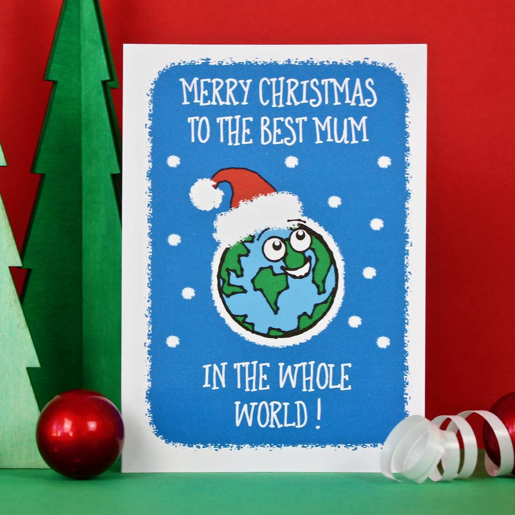 best mum and dad christmas cards by adam regester design ...