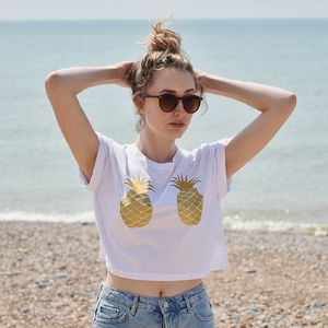 Pineapple Crop Women's T Shirt - summer sale