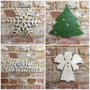 Classic British Steel Christamas Decorations