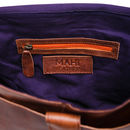 Personalised Leather Classic Messenger