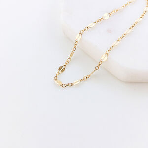 Gold Filled Lace Chain Bracelet