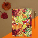 Pumpernickel Print A5 Notebook