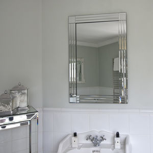 All Glass Triple Edged Mirror