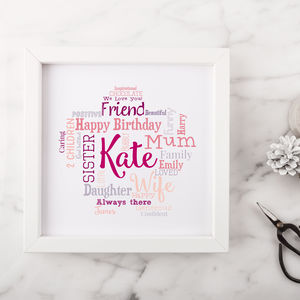 Personalised Birthday Gift For Her