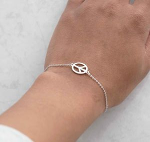 Peace Symbol Bracelet - women's jewellery
