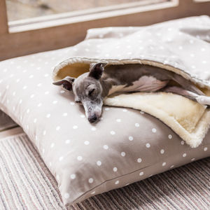 Charley Chau Cotton Luxury Dog Bed Mattress - floor cushions