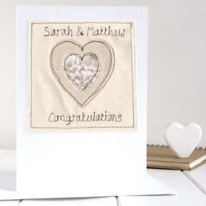 Personalised Congratulations Card