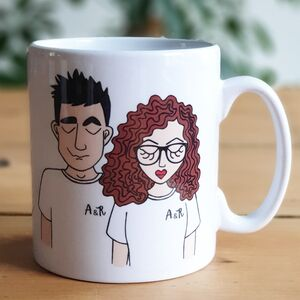 Personalised Create Your Own Couple Valentines Mug