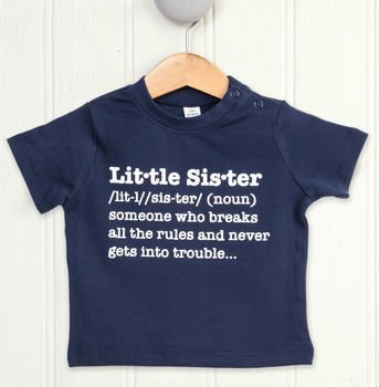 Little Sister Definition T Shirt