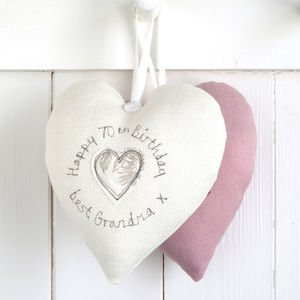 Personalised Birthday Hanging Heart - decorative accessories