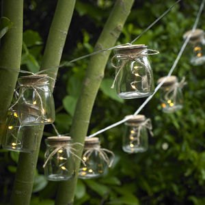 Glass Jar String Lights - fairy lights & string lights