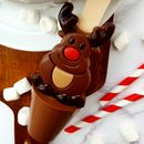 Christmas Rudolph Hot Chocolate Spoon Gift
