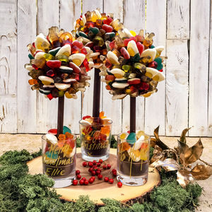 Personalised Haribo Edible Sweet Tree - gifts for her