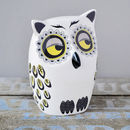 Handmade Medium Ceramic Owl
