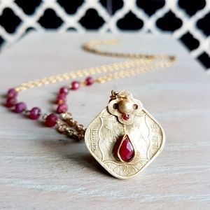 Ruby Coin Pendant - view all new