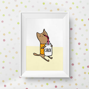 You Are Purrrfect Personalised Cat Print - posters & prints