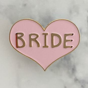 'Bride' Enamel Pin