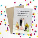Funny Wedding Card