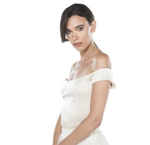 Silk Bodice Wedding Top - dresses