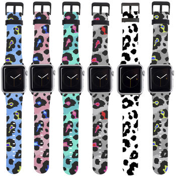Leopard Print Apple Watch Strap