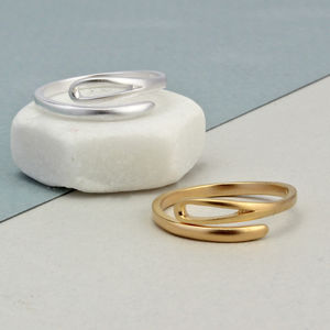 Adjustable 'Needle' Ring - rings